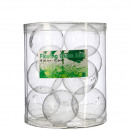 Glas Schwimmkugel, Maschinenglas, D5cm, 12 Stück p